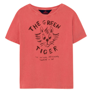 Red Tiger Rooster T-Shirt