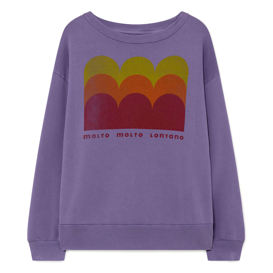 Purple Molto Bear Sweatshirt