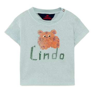 Blue Lindo Baby Rooster T-Shirt