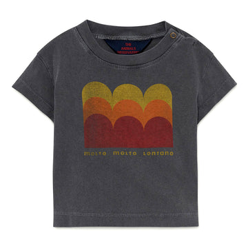 Black Molto Baby Rooster T-Shirt