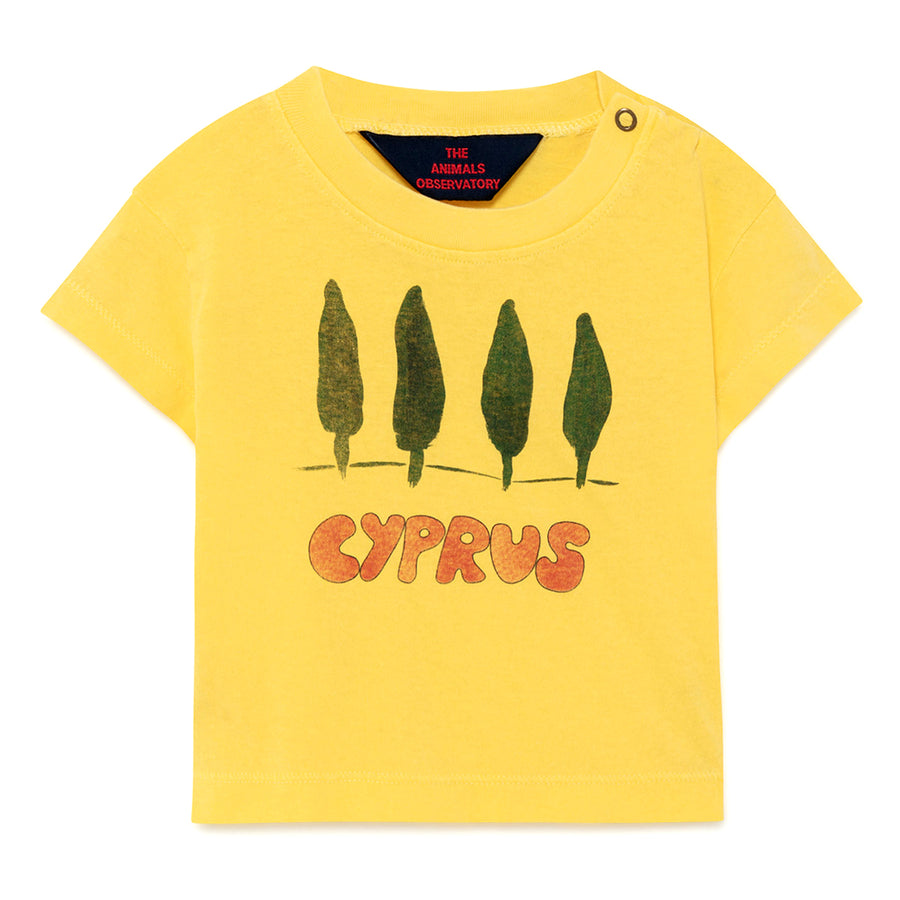 Yellow Cyprus Baby Rooster T-Shirt
