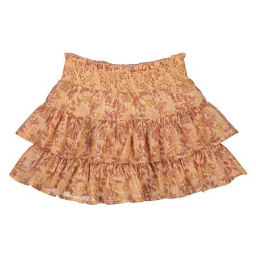 Lena Indian Flower Lurex Skirt