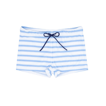 Blue Ticking Stripe Brief