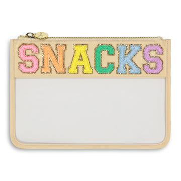 SNACKS Clear Flat Pouch