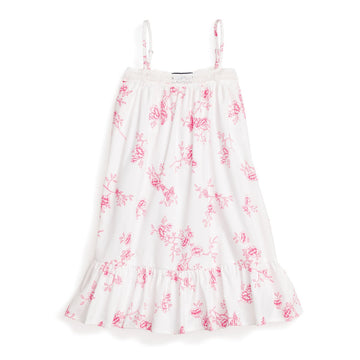 English Floral Lily Nightgown