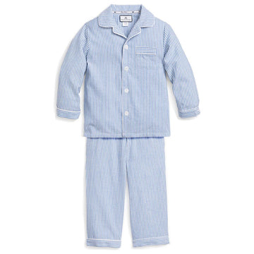 French Blue Seersucker Pajamas