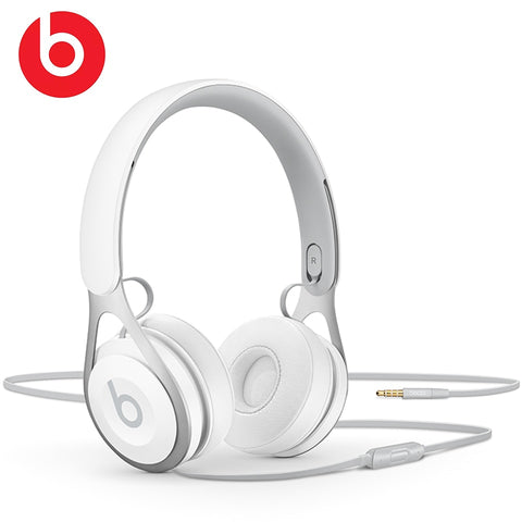 Beats Headphones EP 3.5mm On Ear Bass Line Control noise Isolation