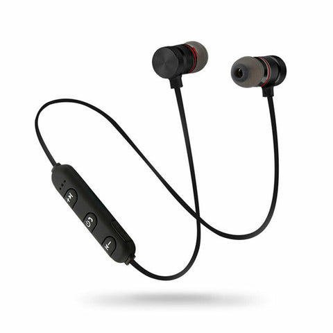 Earphones Bluetooth 4.1 Magnetic Sports Waterproof Earbuds with Microphone