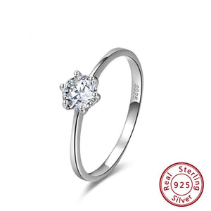 Ring 100% 925 Sterling Silver Ring Cubic Zircon 2020