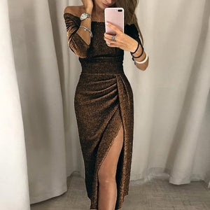 Dress Sexy Bodycon Vintage Elegant Bright
