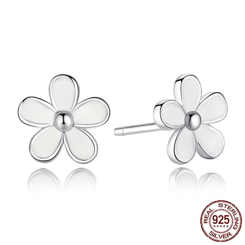 Earrings 100% 925 Authentic Sterling Silver