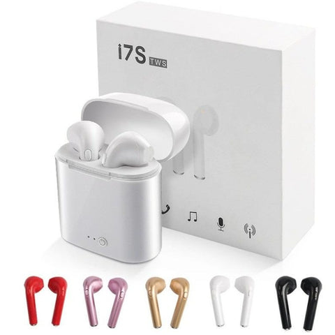 I7s TWS headphones Bluetooth All smartphones Compatible