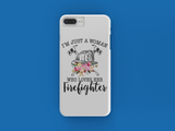 Loves Her Firefighter iPhone Case