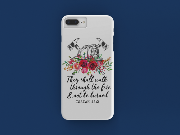 They Shall Walk Red iPhone Case