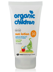 Organic Children Sun Lotion SPF30