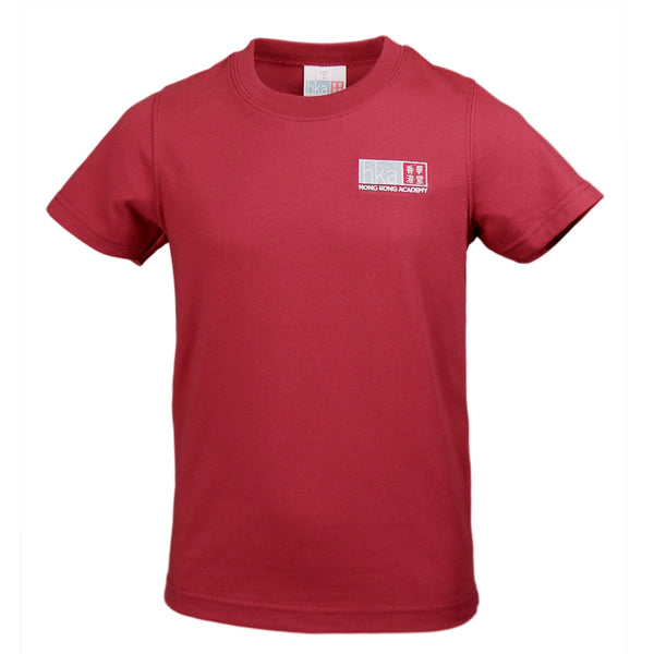 Red Cotton PE T-Shirt