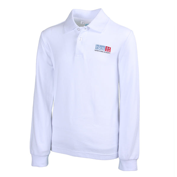 HKA Cotton Polo - Long Sleeve