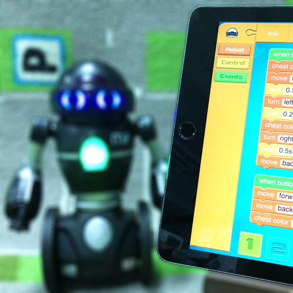 Robot Coding on iPad