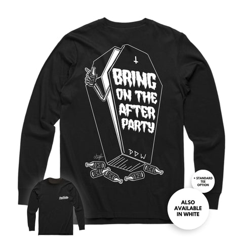 'Bring on the After Party' Long Sleeve Tee
