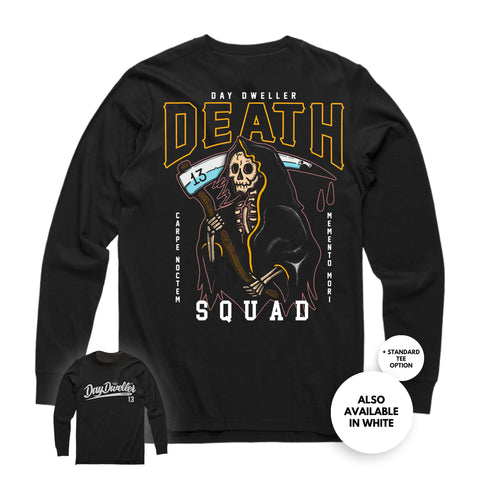 'Death Squad' Long Sleeve Tee