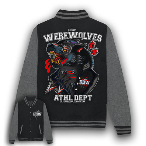 'The Wolves Are Among Us' Varsity Jacket