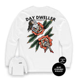 'Severed By Roses' Long Sleeve Tee