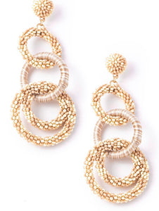 Jump Through Hoops earrings