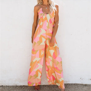 Sleeveless Summer Jumpsuit