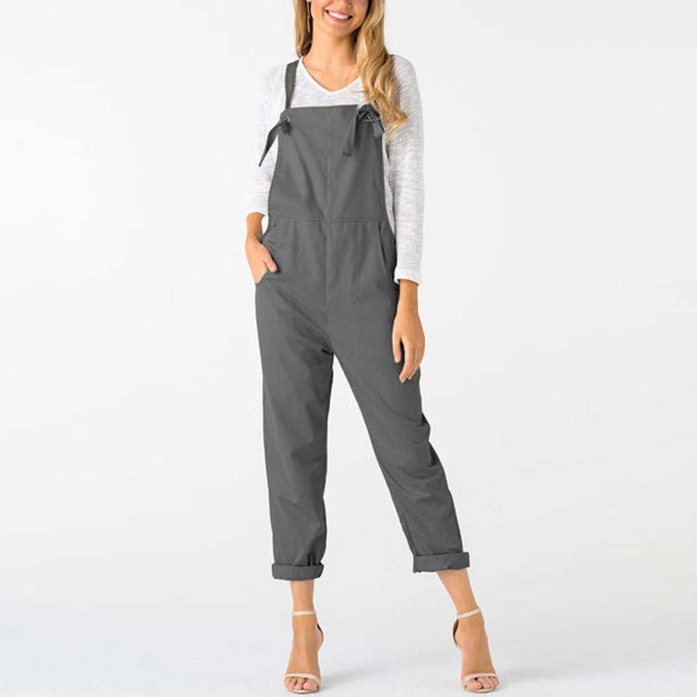 Loose Summer Jumpsuit