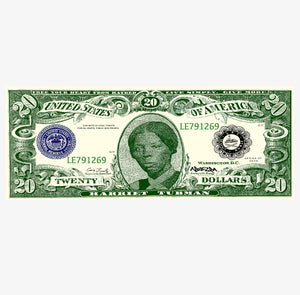 Tubman Twenty Dollar Bill Stickers