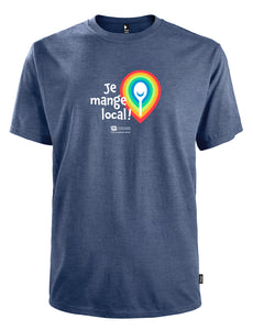 T-shirt Je mange local - Homme