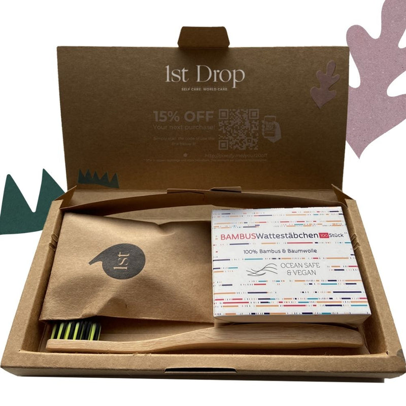 Eco beauty box - Vegan - Cruelty Free - Biodebradable