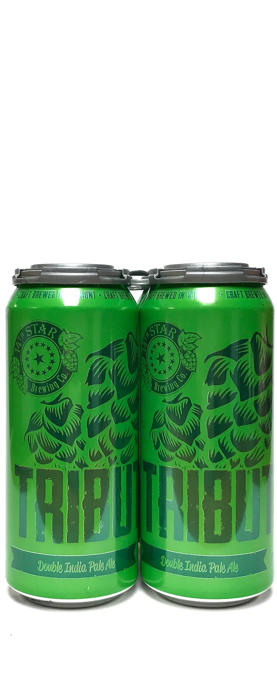 14 Star Tribute Double IPA 16oz Can 4-Pack