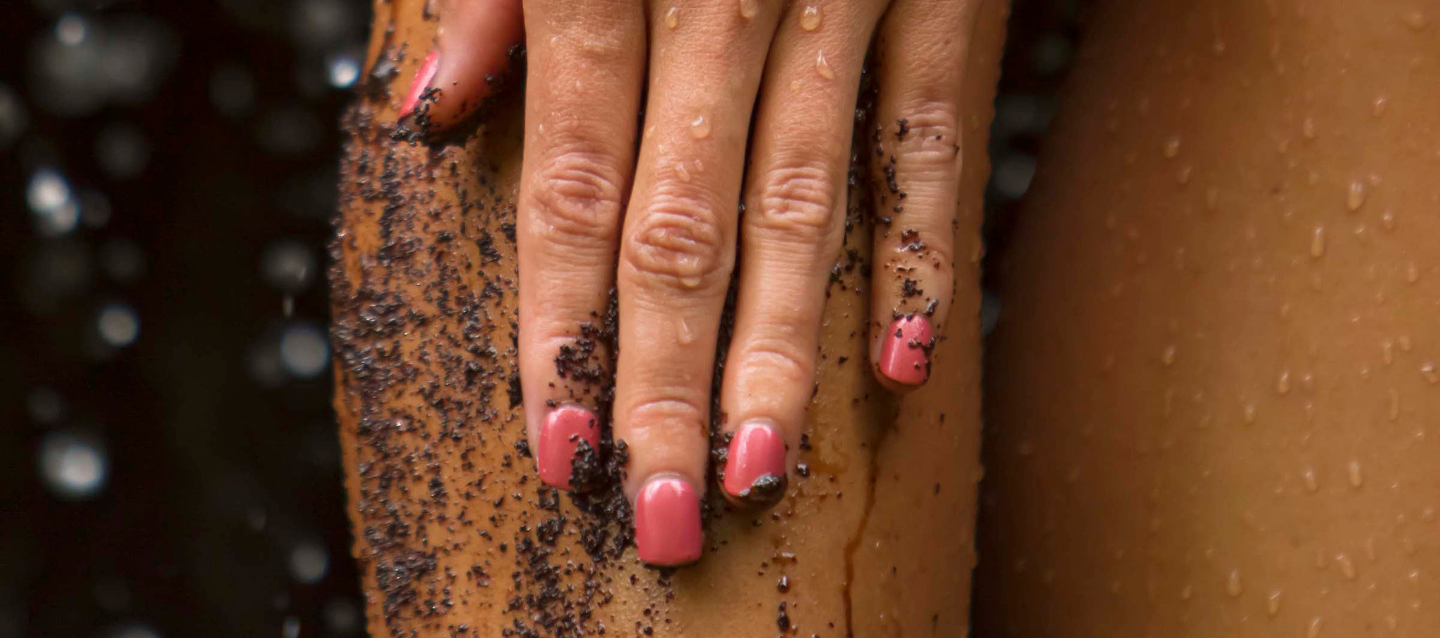 how to use ili coffee scrubs