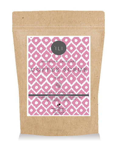TRAVEL SIZE COFFEE SCRUB ROSE