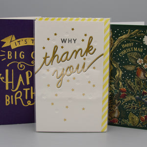 Cards, Wrap & Stationery