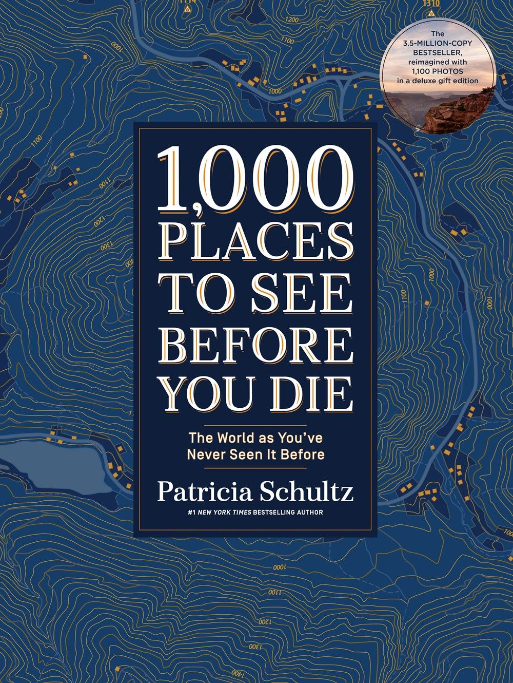 1000 Places To See Before You Die Book - (Deluxe Ed)