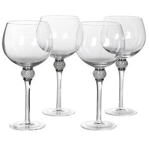 Add a bit of sparkle to your Friday night Gin & Tonic! These stunning diamante glasses are made for entertaining.  Hand wash only.