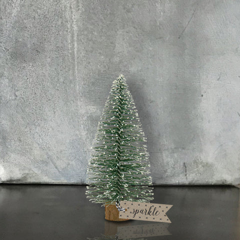 One of three different sizes available of these adorable Christmas trees from the beloved East of India. Gorgeous on it's own or paired with other decorations. Size 10 x 5 x 5cm
