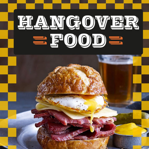 Wave goodbye to your hangover with these 35 tasty recipes - each one the perfect antidote to alcohol excess. Inside you'll find, bacon, bacon, and more bacon; the finest eggiwegs with the runniest yokes; and the best carb-heavy comfort food to soothe the stomach and heal a throbbing head. Vegans and veggies are also covered with meat-free delights that'll put you on the road to recovery.
