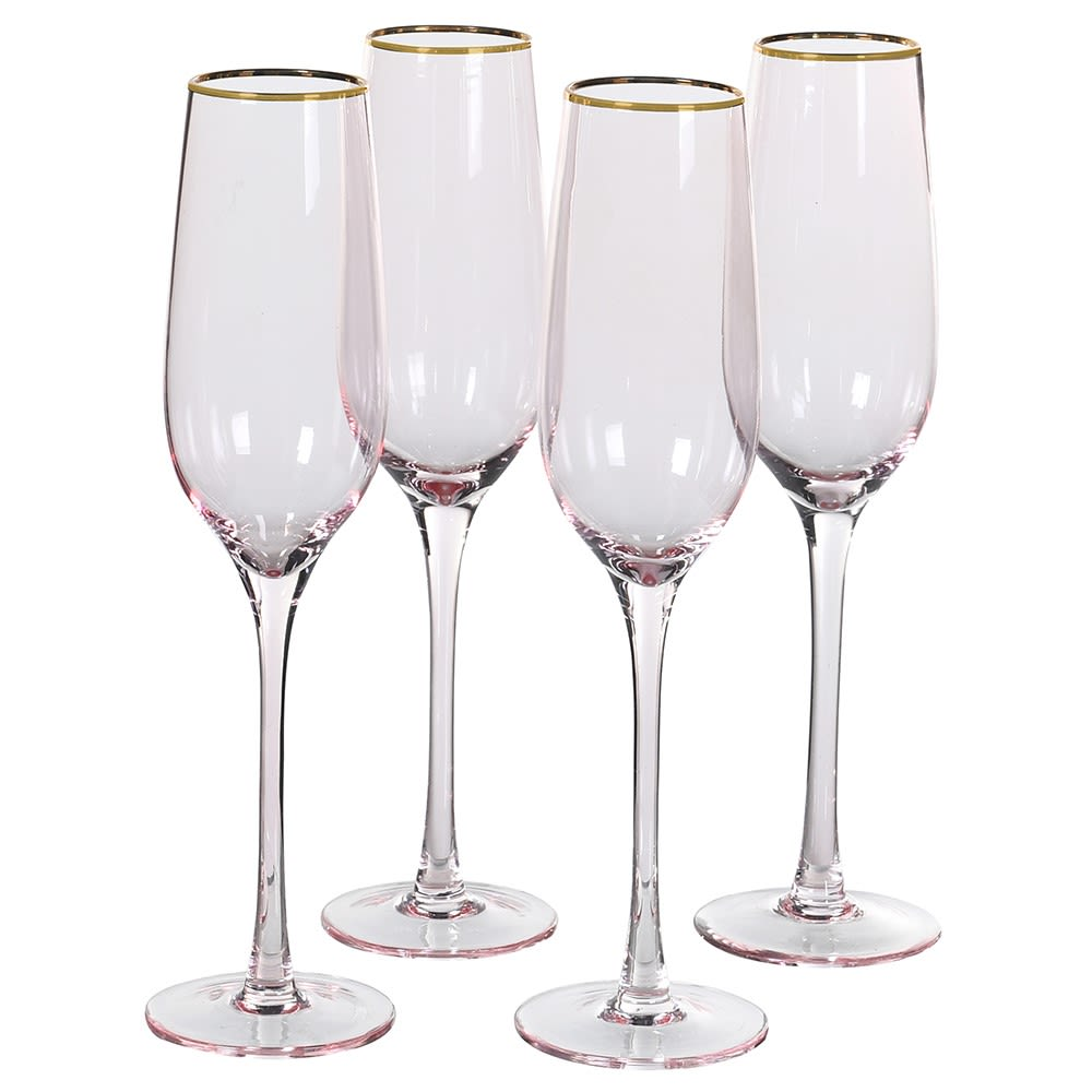 An elegant champagne flute that would be perfect for any celebration.  Recommended hand wash only.