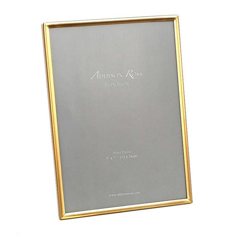 "Addison Ross Fine Gold Plated Frame 5"" x 7"""