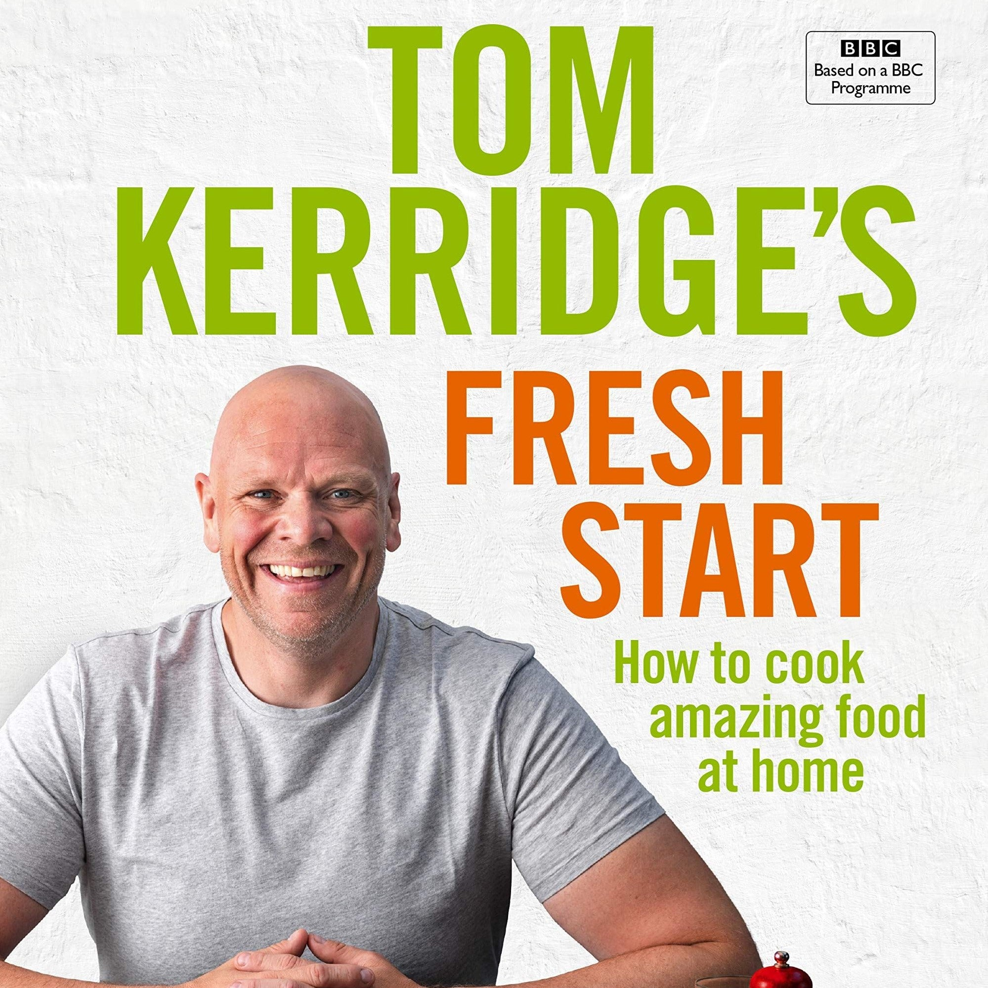 100 amazing healthy home-based meals from TV celebrity Tom Kerridge whose recent bestsellers include Lose Weight for Good and The Dopamine Diet. His dream is to promote home cooking, using ingredients from scratch rather than relying on processed meals and The featured recipes are still family-favourites, but are healthier than packaged or fast food versions - and much tastier too. Includes quick to make weeknight dinners, batch cooking to last across the week, and weekend feasts.