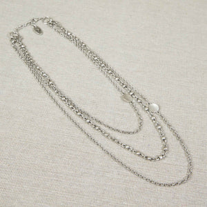 Treaty Silver Plated Necklace