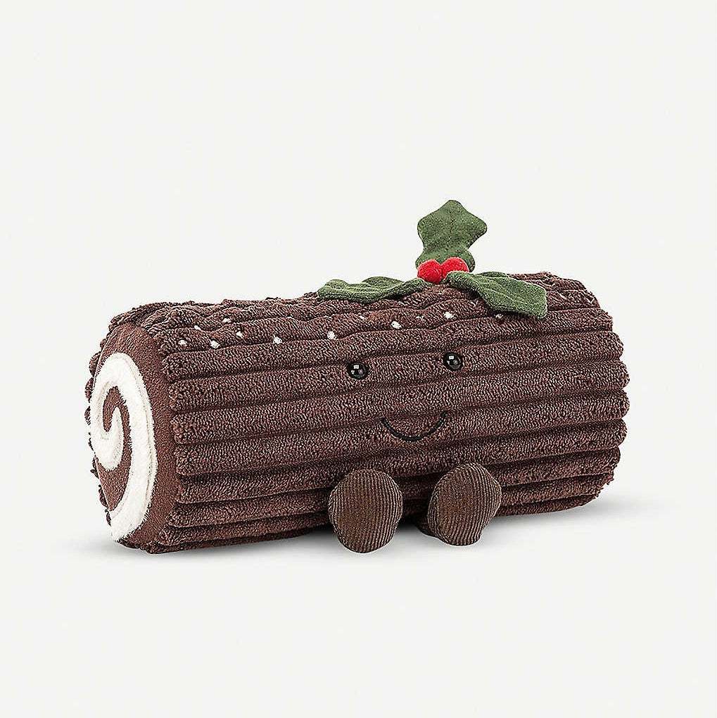 This sweet Yule Log from Jellycat makes for a fun and festive cuddle buddy that is sure to be a favourite with big and little ones alike. Size H13cmxW21cm