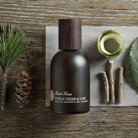 This Bath House Cuban Cedar and Lime Cologne is an ideal gift for him; a classically packaged, fine cologne version of Bath House's timeless Cedar and Lime scent. Citrus notes of fresh lime zest, green bergamot and bitter grapefruit are layered with the pungent, dangerous sensuality of leather, musk and dry cedar.