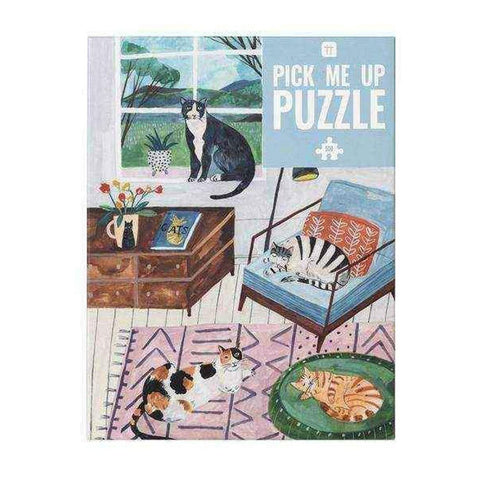 Looking for activities to do at home? Puzzles are perfect indoor fun for adults and kids.  Our Pick Me Up puzzles represent our simple pleasures in life and make a great hobby too. Why not pick one up as a birthday gift or treat yourself! Puzzles encourage wellness and are sure to help you relax. This unique design can become a permanent decoration in your home by putting it in a frame and hanging it on your wall as art.  This puzzle is 500 pieces. Size: 49cm x 36.5 cm