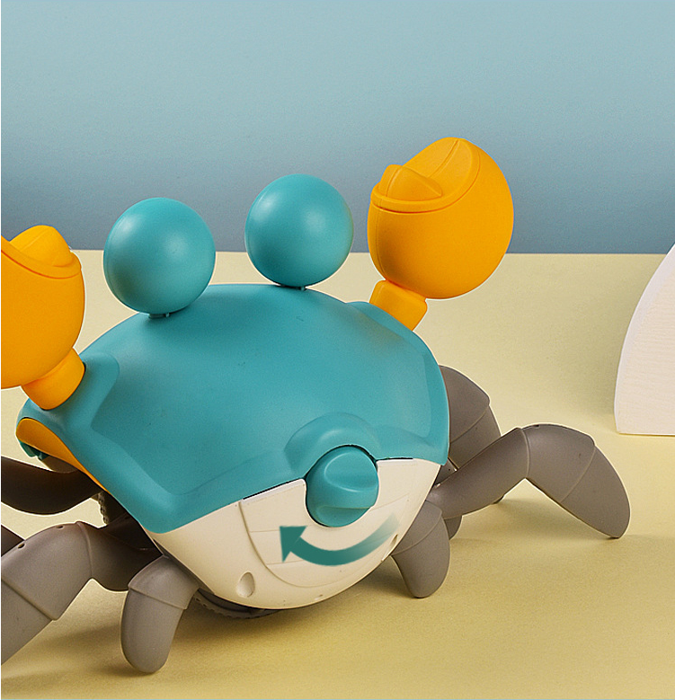 Funny Amphibious Walking Crab Toy