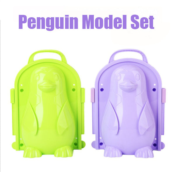 Penguin model snowman suit