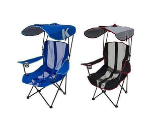 Premium Portable Camping Folding Lawn Chairs with Canopy
